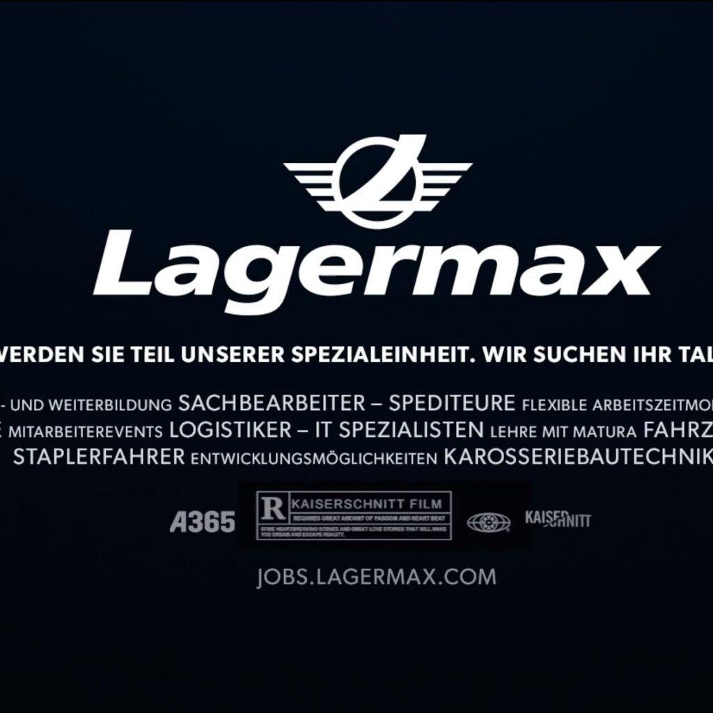 Lagermax Werbung INNENHOFSTUDIOS